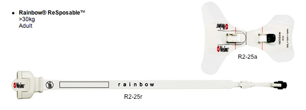 Rainbow R2-25 ReSposable Sensor